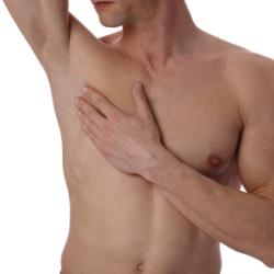 depilación masculina las palmas